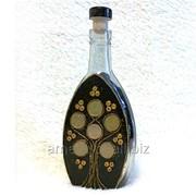 Декоративные бутылки 0.2 л Дерево для подарка или интерьера фото