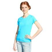 Женская спортивная футболка StanPrintWomen 30W Бирюзовый неон S/44 фото