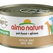 Almo Nature 95г Влажный корм для взрослых собак Телятина фото