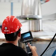 Испытания и измерения теплообменника фото