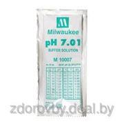 Жидкость калибровочная буферный раствор pH 7.01 Milwaukee 20мл для pH метров фото