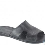 Сабо мужские 369-5009, черный фото