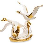 Скульптура Летящие гуси 43х42х35см. арт.AHURA-97 фото