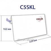 Конверт c5, с отрывной силиконовой лентой, 162 х 229 мм, белый C5SKL фото
