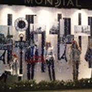 Оформление витрины Mondial фото