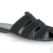 Сабо мужские 369-1066, черный фото