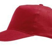 Бейсболка SUNNY, красная фото