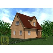 Дом каркасно-щитовой Проект №29 (6х8) фото