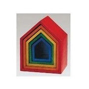 Noname Набор цветных домиков «Радуга» арт. RN18028 фото