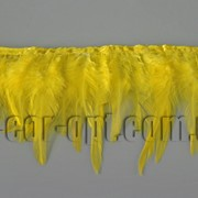 Перо-юбка желтая 8-13см/48-50см 570433 фото