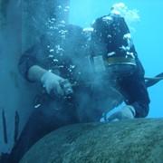 Подводный ремонт фото