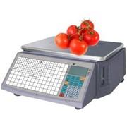 Весы торговые с чекопечатью Alex S&E LS-2N615 фото