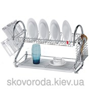 Сушка для посуды двухярусная Maestro Rainbow MR-1025 фото
