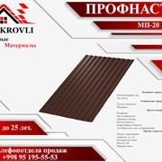 Профнастил МП-20 0,5мм ПЭ фото