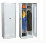 Шкафы гардеробные металлические разнотипные фото