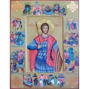 Именная икона Св. князь Александр Невский фото