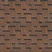 Гибкая черепица Shinglas Ультра Джайв, коричневая фото