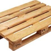 Поддон - один из видов деревянной тары фото