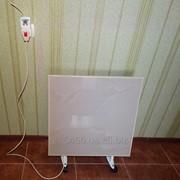 Обігрівач панель керамічна 500в з терморегулятором і ніжками фото