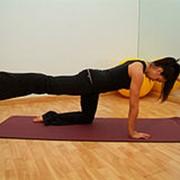 Персональные занятия на тренажере Пилатес Реформер. Программы для беременных. фото