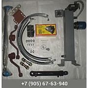 Комплект переоборудования рулевого управления С ГУРа под насос дозатор ( гидроруль ) МТЗ-80 ( неведущий мост) фото