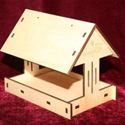 Сувенир деревянный Кормушка фото