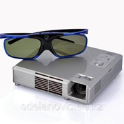 Портативный видеопроектор 3D DLP Синемакс 1280x800, 1000:1, 300 люмен,HD фото