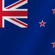 Флаг национальный Новая Зеландия фото