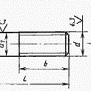 Болт ГОСТ 7798-70 с шестигранной головкой, класс точности B фото