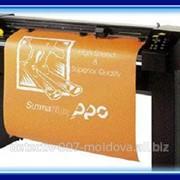 Услуги плотерной порезке пленок на фирме «Монблан» осуществляется на высокоэффективном оборудовании SUMMASIGN Pro T1010 с активным ножом и большой скоростью работы. фото