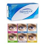 Цветные контактные линзы FreshLook Colors UV 8.6 фото