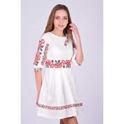 Полотно с вышивкой для одежды, Украина фото
