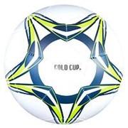 Мяч футбольный 280г-300г, №5, PVC глянцевый, 1слой Т81426 фото