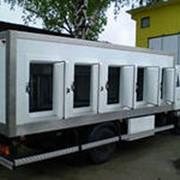 Автофургон-мороженица на шасси ISUZU(NLR85,NPR75) фото