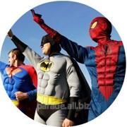 Супергерои на детском празднике! фото