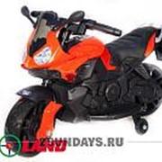 Детский электромотоцикл Moto JC 917 красный фото