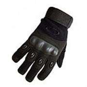 Перчатки Oakley полнопалые, черные (Black) фото