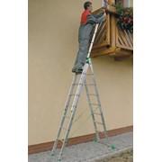 Трехсекционная лестница-стремянка ITOSS 7609 фото