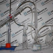 Стеклянный самогонный аппарат Вант-Гофф фото