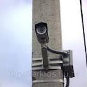 Монтаж уличной видеокамеры фото