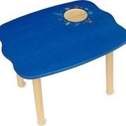 Большой Стол для Вечеринок (48x60x44 cм), голубой арт.42014 фото