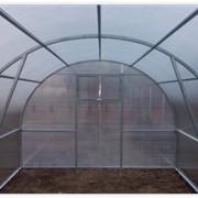 3х6м теплица (оцинкованая) поликарбонат 6мм фото