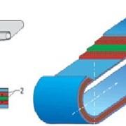 Ремень плоский приводный резинотканевый бесконечный (замкнутый) фото