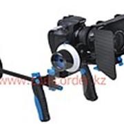 Плечевой упор для зеркальных фотоаппаратов с фокусом, блендой фото