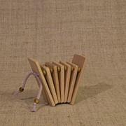 MS-KP-TR-03 Трещотка пластинчатая, детская, Мастерская Сереброва фото