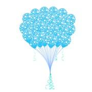 """Облако из воздушных шаров «It's a boy» (это мальчик) и Облако """"it's a girl"""" (это девочка) Ф-008 фото"""