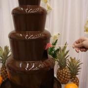 Шоколадный Фонтан 4 яруса фото