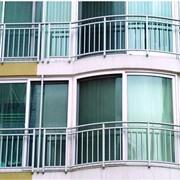 Остекление балконов фотография