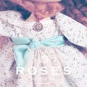 Разработка фирменного стиля для Roses Dolls Collection фото