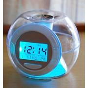 Часы шар - дисплей с подсветкой фото